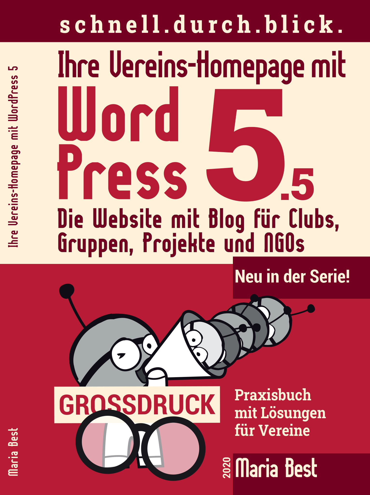 2020 WordPress_5.5_Vereine_GROSSDRUCK_COVER