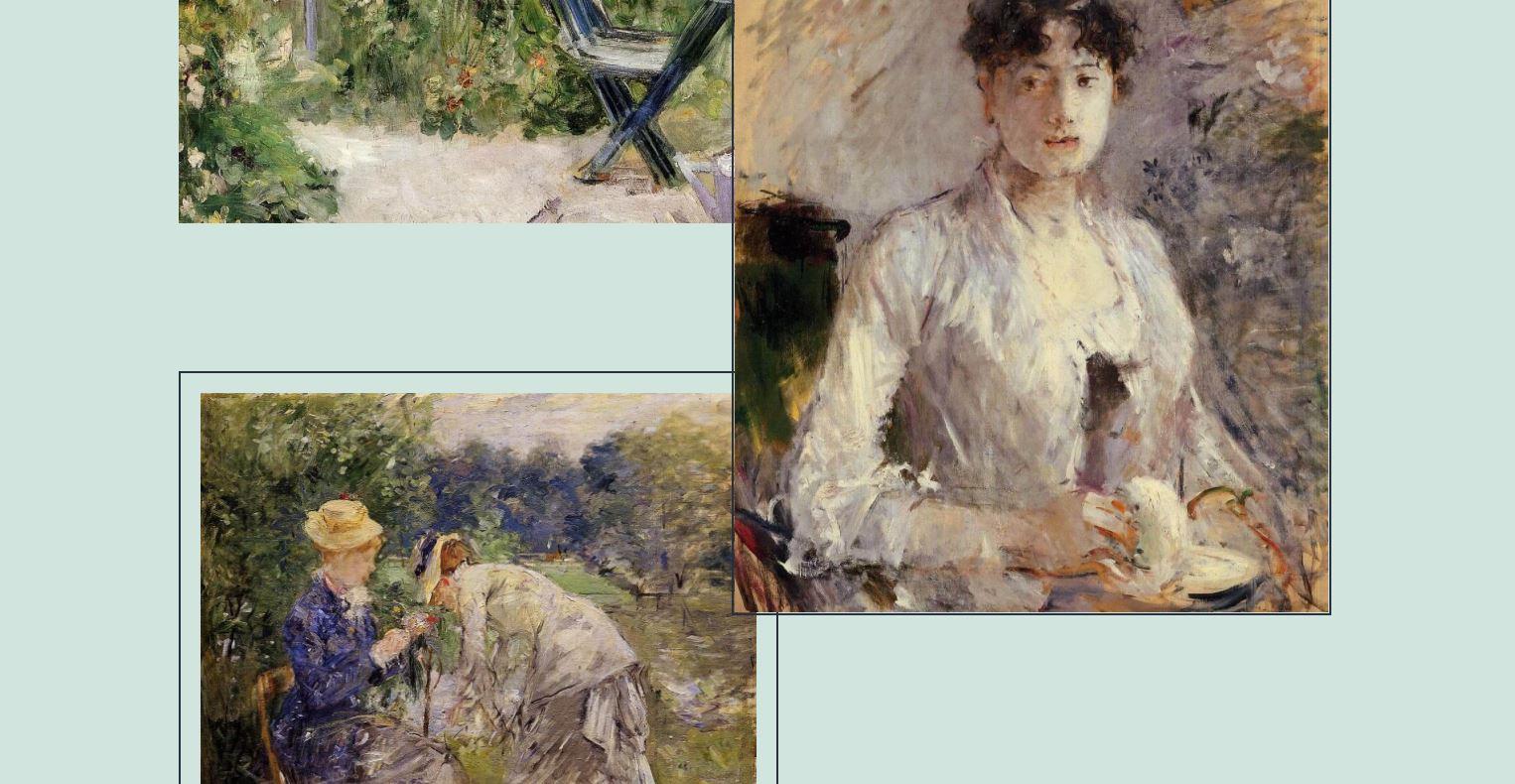 2021 Wordpress Standard Theme mit Bildern von Berthe Morisot